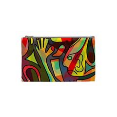 Colorful dream Cosmetic Bag (Small)