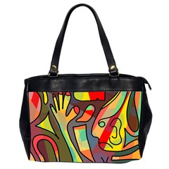 Colorful dream Office Handbags (2 Sides)