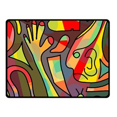 Colorful dream Fleece Blanket (Small)