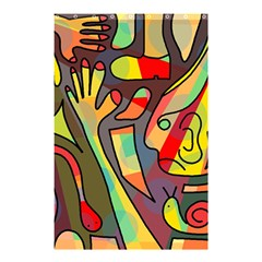 Colorful dream Shower Curtain 48  x 72  (Small)