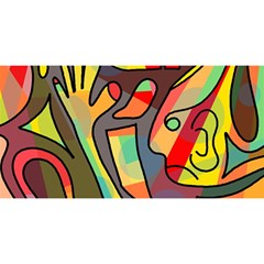 Colorful dream YOU ARE INVITED 3D Greeting Card (8x4)