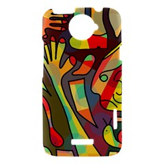 Colorful dream HTC One X Hardshell Case