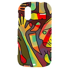 Colorful dream HTC Amaze 4G Hardshell Case