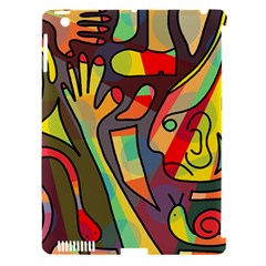 Colorful dream Apple iPad 3/4 Hardshell Case (Compatible with Smart Cover)