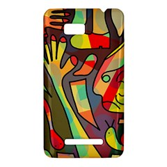 Colorful dream HTC One SU T528W Hardshell Case