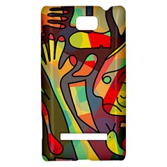 Colorful dream HTC 8S Hardshell Case