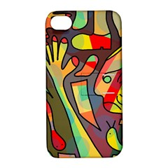 Colorful dream Apple iPhone 4/4S Hardshell Case with Stand