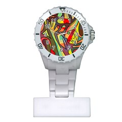 Colorful dream Plastic Nurses Watch