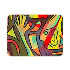 Colorful dream Double Sided Flano Blanket (Mini)