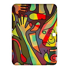 Colorful dream Samsung Galaxy Tab 4 (10.1 ) Hardshell Case