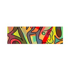 Colorful dream Satin Scarf (Oblong)