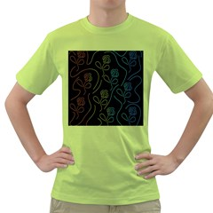 Floral pattern Green T-Shirt