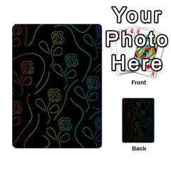Floral pattern Multi-purpose Cards (Rectangle)