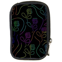 Flowers - pattern Compact Camera Cases