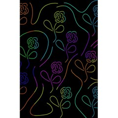 Flowers - pattern 5.5  x 8.5  Notebooks