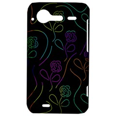 Flowers - pattern HTC Incredible S Hardshell Case