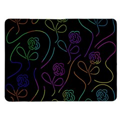 Flowers - pattern Kindle Fire (1st Gen) Flip Case