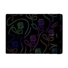 Flowers - pattern Apple iPad Mini Flip Case