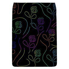 Flowers - pattern Flap Covers (S)