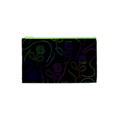 Flowers - pattern Cosmetic Bag (XS)