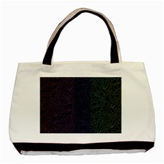 Colorful elegant pattern Basic Tote Bag (Two Sides)