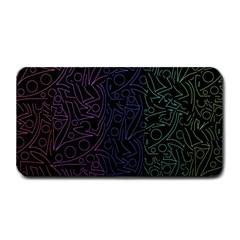 Colorful elegant pattern Medium Bar Mats