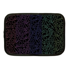 Colorful elegant pattern Netbook Case (Medium)
