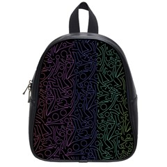 Colorful elegant pattern School Bags (Small)
