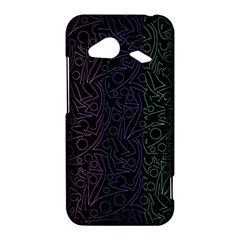 Colorful elegant pattern HTC Droid Incredible 4G LTE Hardshell Case