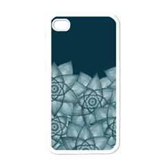 Flower Light Star Apple iPhone 4 Case (White)