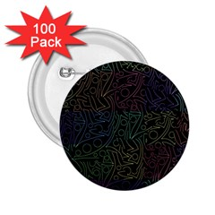 Colorful pattern 2.25  Buttons (100 pack)