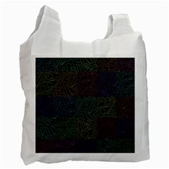 Colorful pattern Recycle Bag (Two Side)