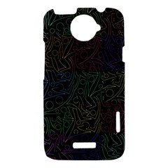 Colorful pattern HTC One X Hardshell Case