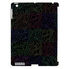 Colorful pattern Apple iPad 3/4 Hardshell Case (Compatible with Smart Cover)