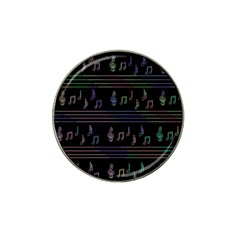 Music pattern Hat Clip Ball Marker