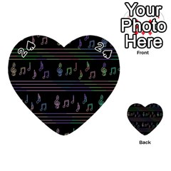 Music pattern Playing Cards 54 (Heart)