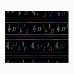 Music pattern Small Glasses Cloth (2-Side)