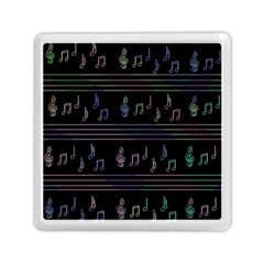 Music pattern Memory Card Reader (Square)