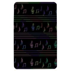Music pattern Kindle Fire (1st Gen) Hardshell Case