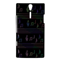 Music pattern Sony Xperia S
