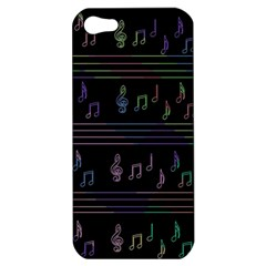 Music pattern Apple iPhone 5 Hardshell Case
