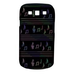 Music pattern Samsung Galaxy S III Classic Hardshell Case (PC+Silicone)