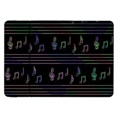 Music pattern Samsung Galaxy Tab 8.9  P7300 Flip Case