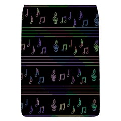 Music pattern Flap Covers (L)
