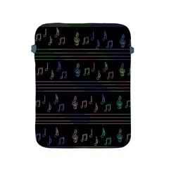 Music pattern Apple iPad 2/3/4 Protective Soft Cases