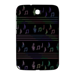 Music pattern Samsung Galaxy Note 8.0 N5100 Hardshell Case