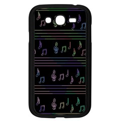 Music pattern Samsung Galaxy Grand DUOS I9082 Case (Black)