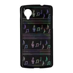 Music pattern Nexus 5 Case (Black)
