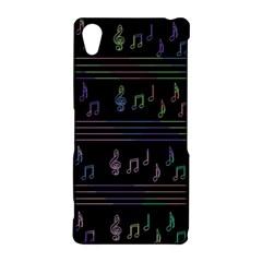 Music pattern Sony Xperia Z2