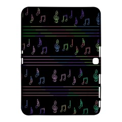Music pattern Samsung Galaxy Tab 4 (10.1 ) Hardshell Case